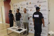 DETIENE POLICÍA ESTATAL A PRESUNTOS LADRONES DE AUTOPARTES
