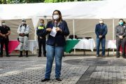 RESPETO Y CONFIANZA MUTUO CON LA CIUDADANÍA, PIDE LUPITA VARGAS A POLICÍAS