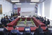AUMENTO HISTÓRICO PARA LA SSP, ACUERDAN GOBIERNO Y POLICÍAS ESTATALES