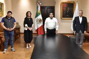 SE REÚNE GOBERNADOR MIGUEL BARBOSA CON DIRIGENTE DEL CONSEJO COORDINADOR EMPRESARIAL