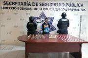 """CAPTURA POLICÍA ESTATAL A PRESUNTA OPERADORA DE """"LA TITA"""""""